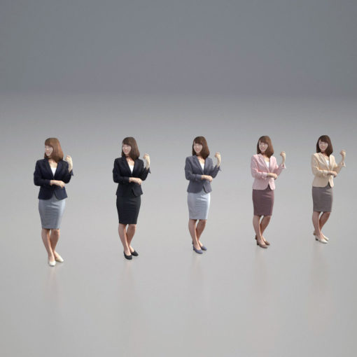 3Dpeople-woman-business