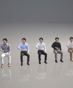 3Dpeople-sitting-man
