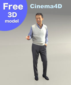 Free-3Dmodel-people-Cinema4D