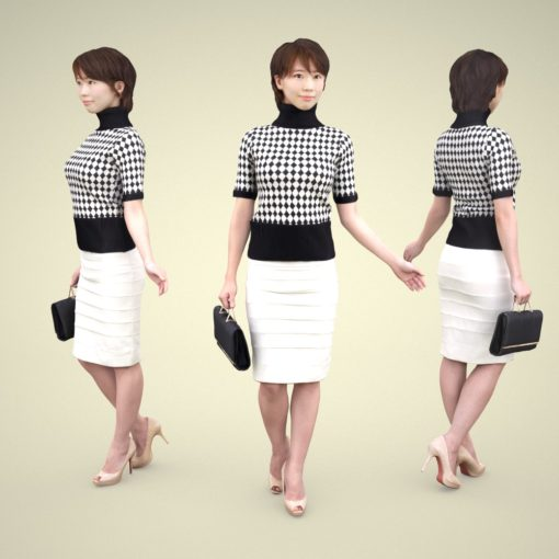 asian-woman-3Dmodel