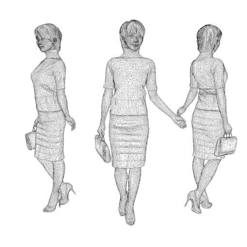 woman-3Dmodel-c4d