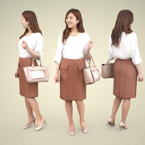 woman-asian-3Dmodel