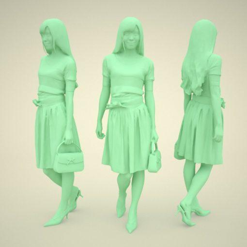 asian-3Dmodel
