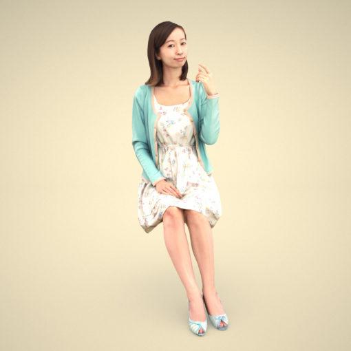 aya-3Dmodel-japan