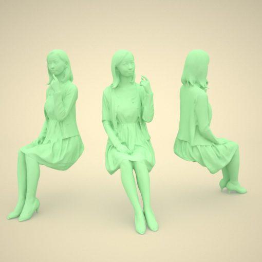 asian-3Dmodel-japan-woman