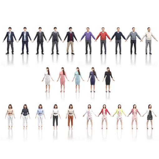 3Dmodel-People