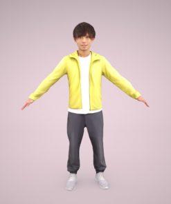 3D-model-Male-casual