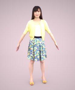 3D-model-casual-female