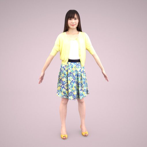 3D-model-casual-female