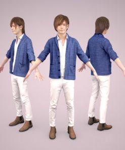 3D-model-Male-casual-man