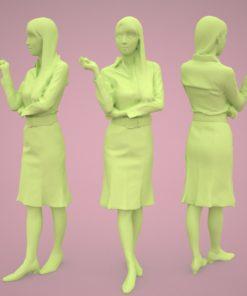3dpeople-woman-japan