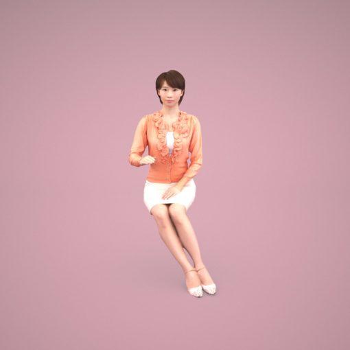 c4d-3dpeople-woman-japan