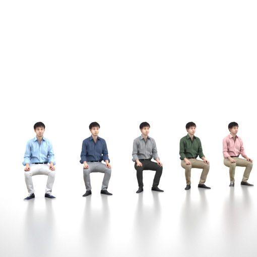3d-model-male-asian-sitting
