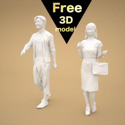 free-3d-models-lowpoly-japan