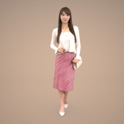 3dpeople-posed-female-japan