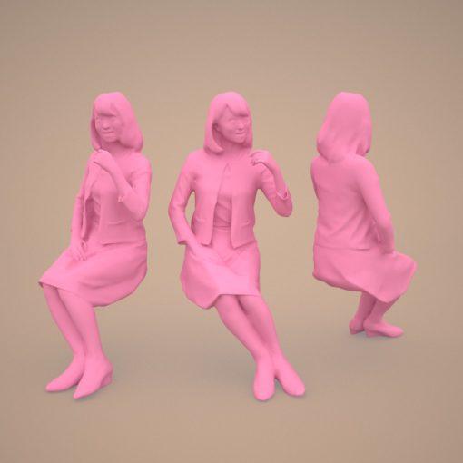 3dmodel-woman-japan