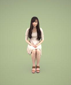 sitting-woman-3dmodel