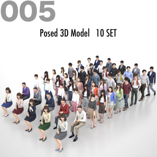 3dpeople-set-model-asian