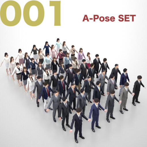 3D-PEOPLE-japanese-business-set