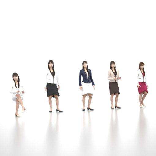 3D-PEOPLE-japanese-woman-animation