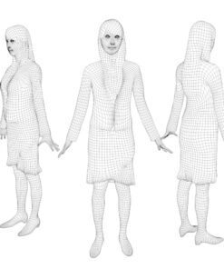 3D-PEOPLE-japanese-woman-mesh