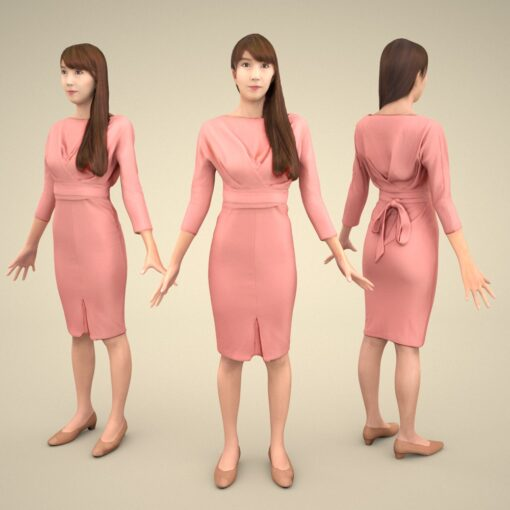 apose-3Dmodel-PEOPLE-asian-casual