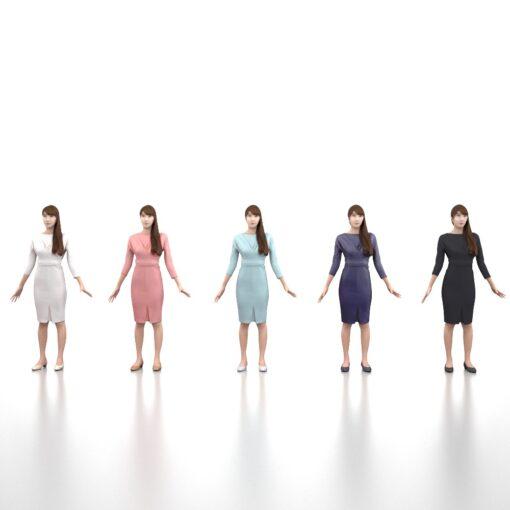 apose-3Dmodel-PEOPLE-asian-woman