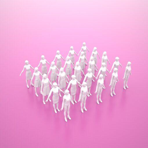 tokyo-Animation-3Dmodel-Human-Asian-casual