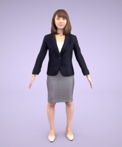 3D-PEOPLE-japanese-woman-business