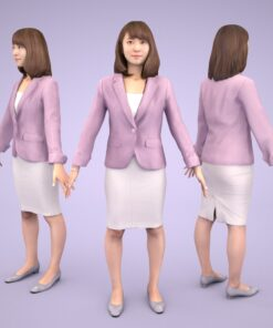 3D-PEOPLE-japanese-woman-kana
