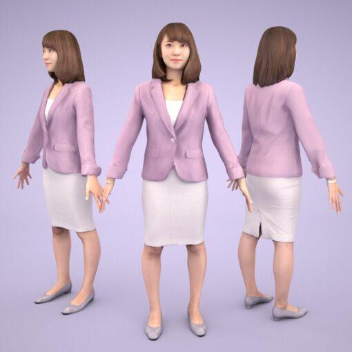 3D-PEOPLE-japanese-woman-kana