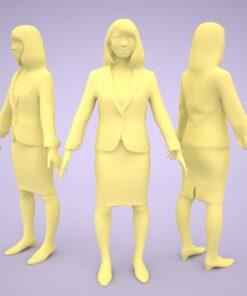 3D-PEOPLE-japanese-woman-model