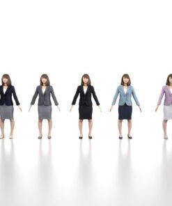 3D-PEOPLE-asian-business-apose-female