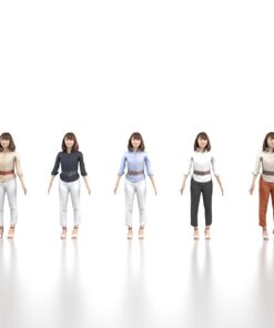 FREE-3Dmodel-animation-woman
