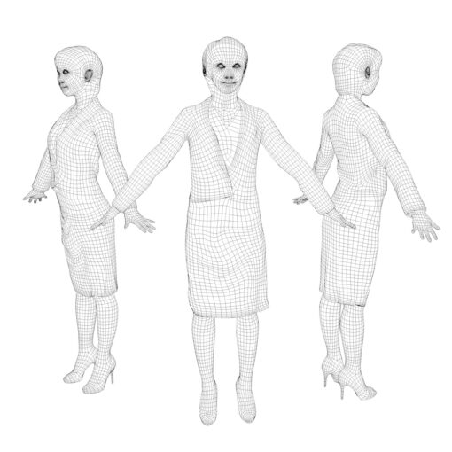 3D-PEOPLE-asian-business-mesh