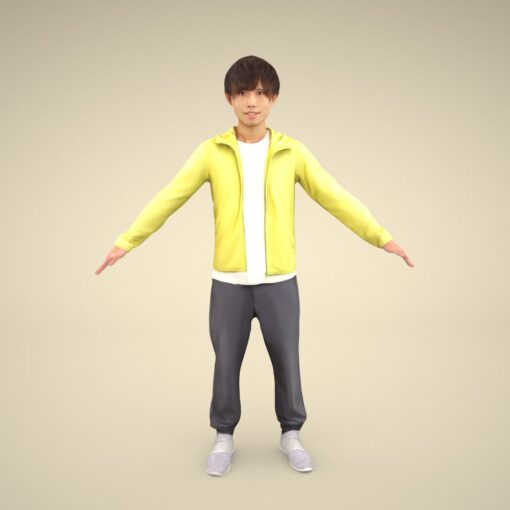 rig-3Dmodel-PEOPLE-asian-casualman