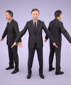 3D-PEOPLE-japanese-business-senior-model