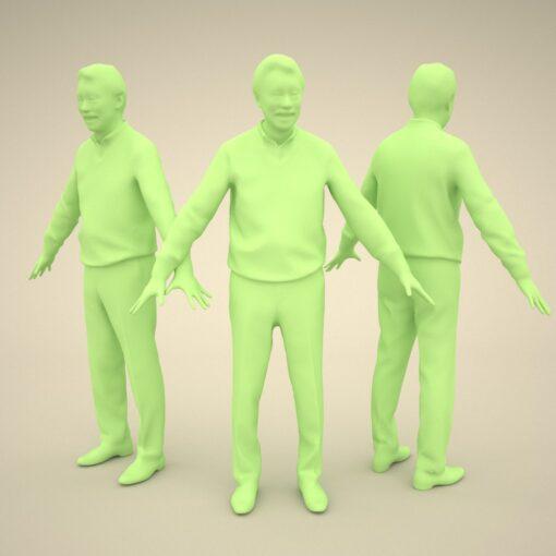 senior-model-3Dmodel-PEOPLE-asian-casual