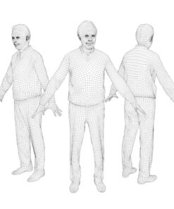 3Dmodel-PEOPLE-asian-casual-wire-senior