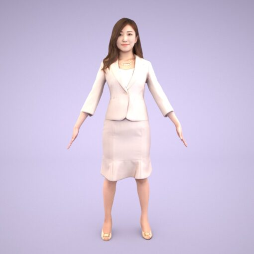 3D-PEOPLE-japanese-business-woman-ddd