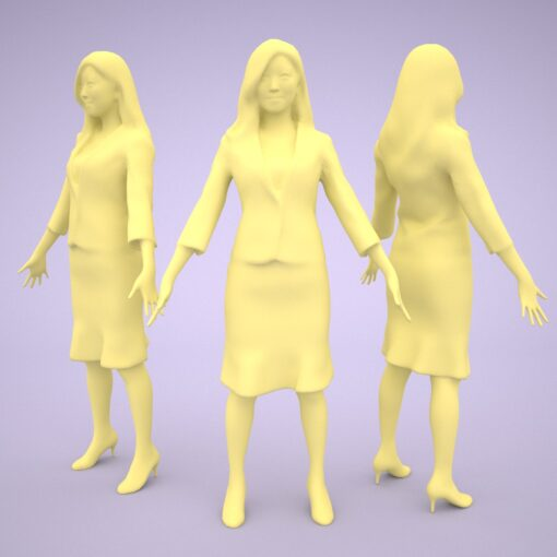 3D-PEOPLE-japanese-business-polygon