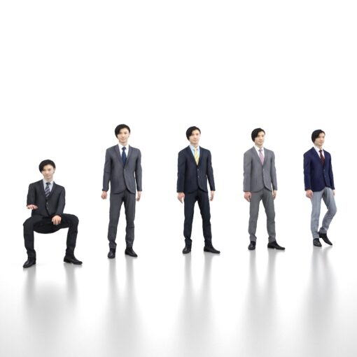 3D-PEOPLE-japanese-business-animation-model