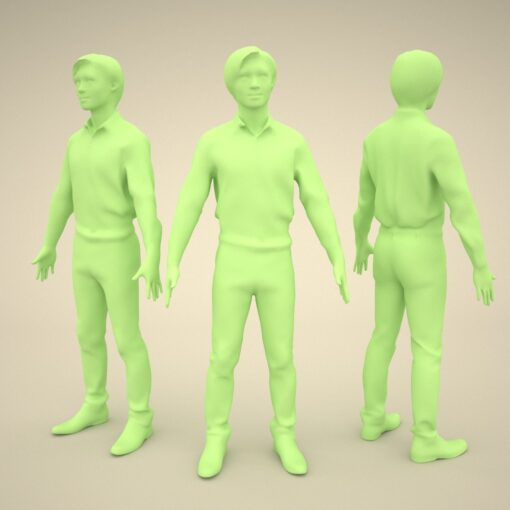 japan-3Dmodel-PEOPLE-asian-casual