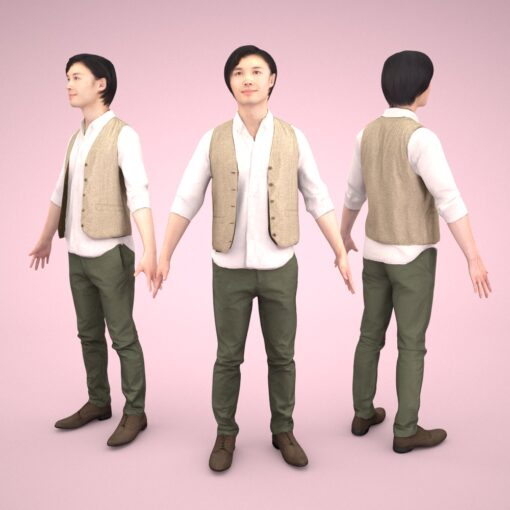 animation-3Dmodel-People-china-casual