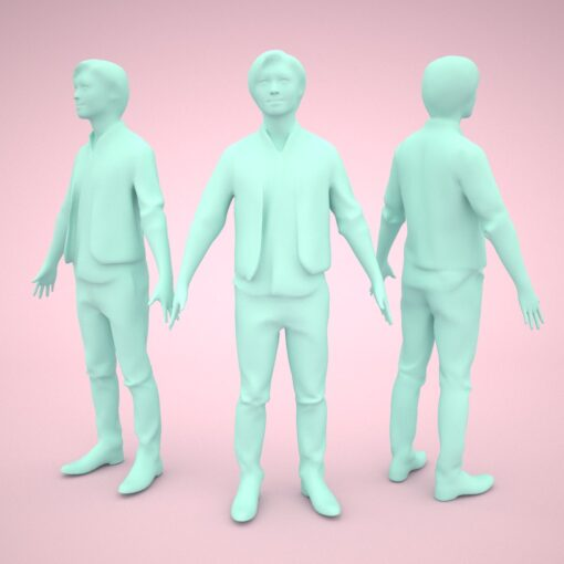 animation-3Dmodel-People-cnina-casual