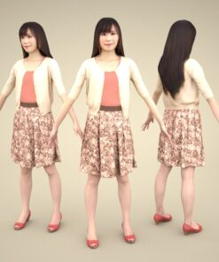 freemodel-3Dmodel-PEOPLE-asian-casual