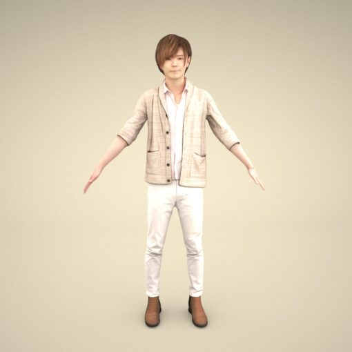 3Dmodel-PEOPLE-asian-casual-youngman