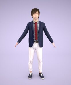 3D-PEOPLE-japanese-business-a-pose