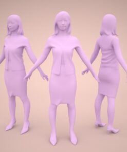 animation-3Dmodel-Human-asian-casualmodel
