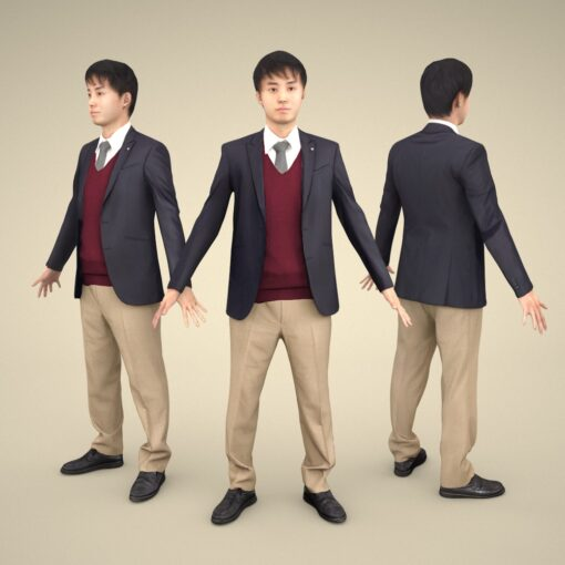 3D-PEOPLE-asian-business-apose